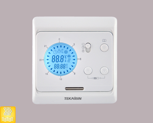Day Programming Heating Thermostat