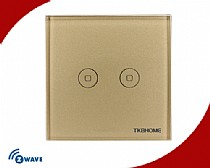 Z-Wave Russia Frequency Two Channel Touch-screen Switch