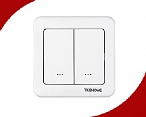 EU Frequency In-Wall Dual ON/OFF Switch with Dual Paddle(80 type)