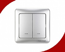 Z-Wave In-Wall Dimmer Switch with Dual Paddle(80 type)