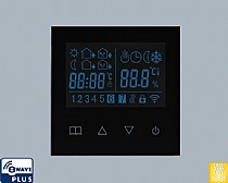 Z-WAVE Weekly Programming Heating Thermostat with LCD Touch Screen